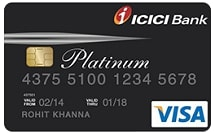 Apply for ICICI Bank Platinum Chip Credit Card designed for online shopping