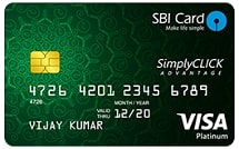 Apply for SBI Simplyclick Credit Card & enjoy exclusive benefits